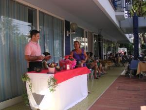 Hotel Canasta, Szállodák  Riccione - big - 20