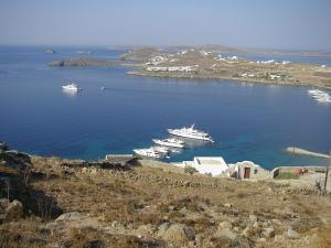 Boundless Blue Villas, Villas  Platis Yialos Mykonos - big - 36