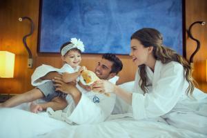 Sammenhengende familierom