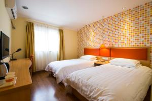 Home Inn Wuhan Jiedaokou, Szállodák  Vuhan - big - 5