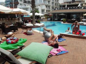Savk Hotel, Hotely  Alanya - big - 51