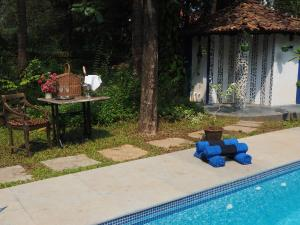 The Secret Garden Goa, Privatzimmer  Saligao - big - 44