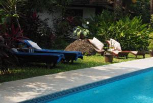 The Secret Garden Goa, Privatzimmer  Saligao - big - 47