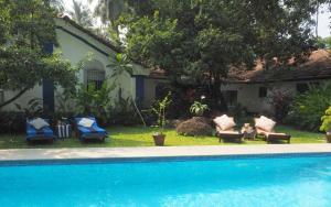 The Secret Garden Goa, Privatzimmer  Saligao - big - 55