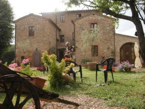 Casale Il Colombaio Di Toiano, Ferienhöfe  Sovicille - big - 52