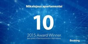 Mikalojaus apartamentai, Apartments  Vilnius - big - 35
