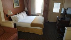 Habitación Doble con cama grande y balcón - No fumadores