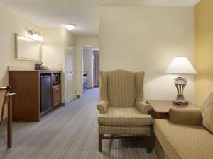 Люкс с 1 спальней с кроватью размера «king-size»