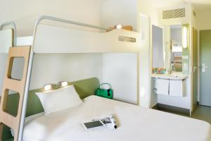 Triple Room with Double Bed and Bunk Bed