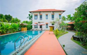 Hoi An Red Frangipani Villa, Отели  Хойан - big - 31