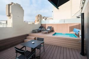 Superior Double Room with Terrace and Private Pool