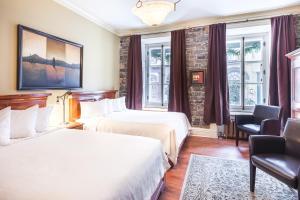 Superior Queen Room with Two Queen Beds - Building Acadia