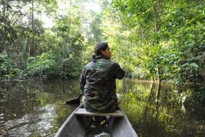 Amazon Golden Snake, Chaty  Santa Teresa - big - 14