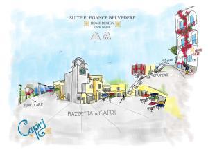 Suite Elegance Belvedere Capri Home Design, Panziók  Capri - big - 61