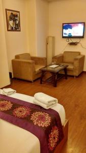 Airport Hotel Lohmod, Отели  Нью-Дели - big - 6