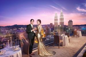 THE FACE Suites, Апарт-отели  Куала-Лумпур - big - 17