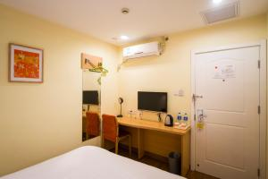 Home Inn Shijiazhuang West Zhongshan Road Jinding Apartment, Отели  Шицзячжуан - big - 12