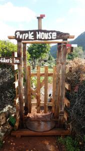 Hiker's Inn-Purple House