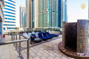 Keys Please Holiday Homes - Princess Tower - Dubai Marina, Apartmány  Dubaj - big - 4
