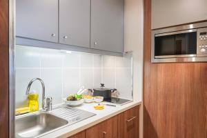 1-værelseslejlighed med dobbeltseng