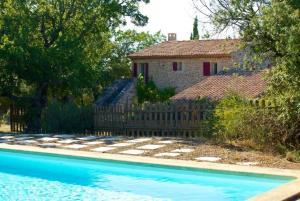 hautes plaines, Dovolenkové domy  Saignon - big - 6