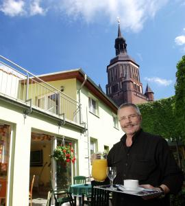 Altstadt Hotel Peiß, Hotely  Stralsund - big - 46