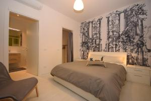 Total White Apartment, Apartmány  Padova - big - 9
