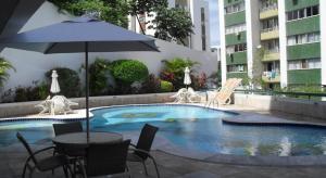 Flat Em Ondina, Apartmanhotelek  Salvador - big - 4