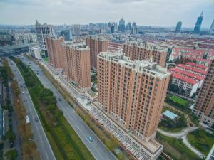 Green Court Place Jingqiao Middle Ring Shanghai, Apartmány  Šanghaj - big - 27