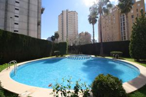 Holiday Apartment Penyasol, Апартаменты  Кальпе - big - 4