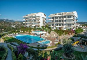 Sunset Beach Vip 2 Residences, Apartmanok  Alanya - big - 62