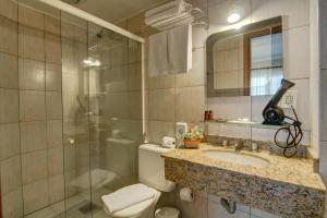 Flat Hotel Palazzo Reale, Aparthotels  Campos do Jordão - big - 13