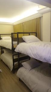 ドミトリールーム 男女共用 二段ベッド1名分