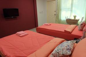 Dvoulůžkový pokoj Superior se dvěma manželskými postelemi
