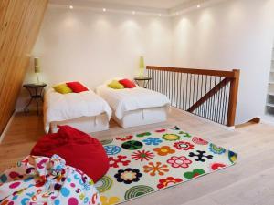 Apartment Les Cigognes, Apartmanok  Deauville - big - 12