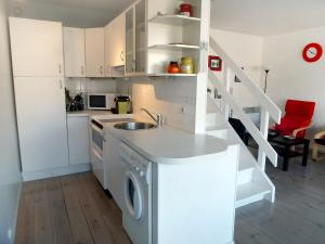 Apartment Les Marinas.7, Appartamenti  Deauville - big - 6