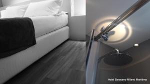 Hotel Saraceno, Отели  Морской Милан - big - 15