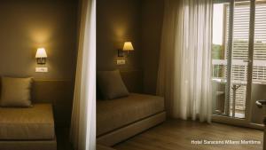 Hotel Saraceno, Отели  Морской Милан - big - 14
