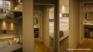 Hotel Saraceno, Отели  Морской Милан - big - 4