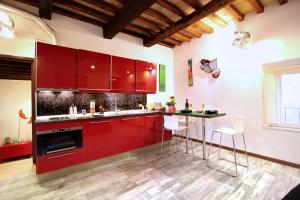 Giubbonari Lotus, Апартаменты  Рим - big - 10