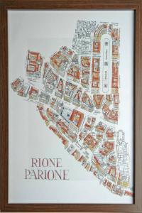 Giubbonari Lotus, Апартаменты  Рим - big - 14