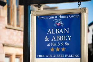 Alban and Abbey House, Vendégházak  Inverness - big - 59