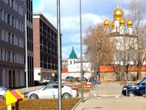 U Moskovskogo Vokzala Apartment, Apartmány  Petrohrad - big - 10