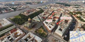 Sutkispb on Bolshaya Morskaya 33, Apartmány  Petrohrad - big - 16