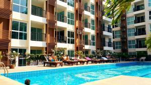 Diamond Suites Condo No.379/42, Apartmány  Pattaya South - big - 86