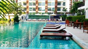 Diamond Suites Condo No.379/42, Apartmány  Pattaya South - big - 7