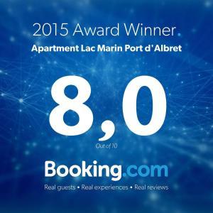 Appartements à côté Lac Marin de Port d'Albret, Apartmanok  Vieux-Boucau-les-Bains - big - 27