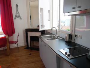Apartment Ravignan, Ferienwohnungen  Paris - big - 10