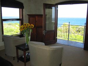 Zuiderlijke Rechter Kamer met Uitzicht op Zee