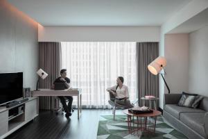 Fraser Place Setiabudi Jakarta, Apartmánové hotely  Jakarta - big - 2